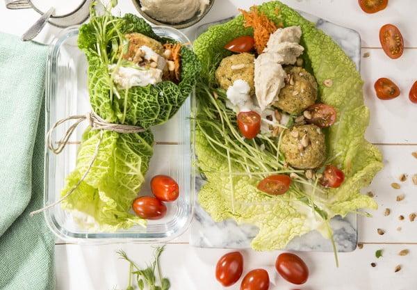 falafel, vegan, raw