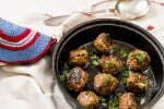 vegetariska köttbollar