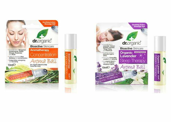 Doft roll-ons från Dr Organic