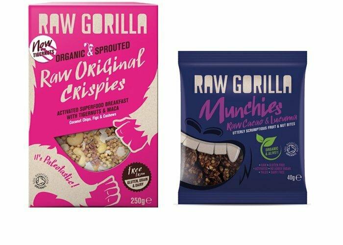 Granola & snacks från Raw Gorilla