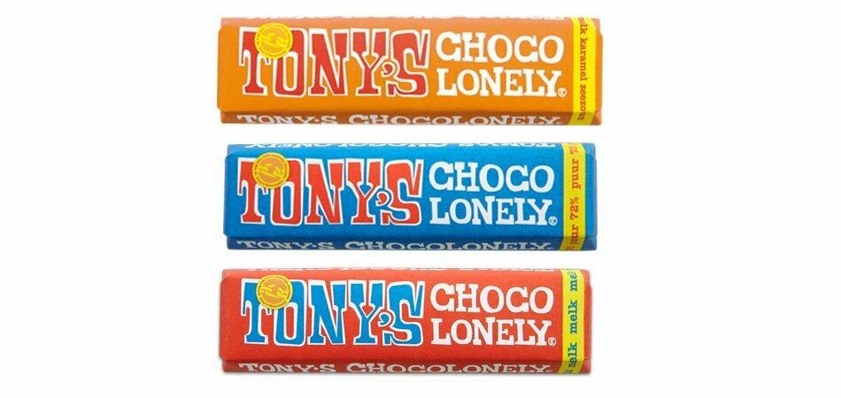 Tony's i ny storlek