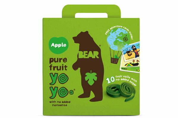 Bear med äpplesmak!