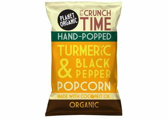 Popcorn med gurkmeja!