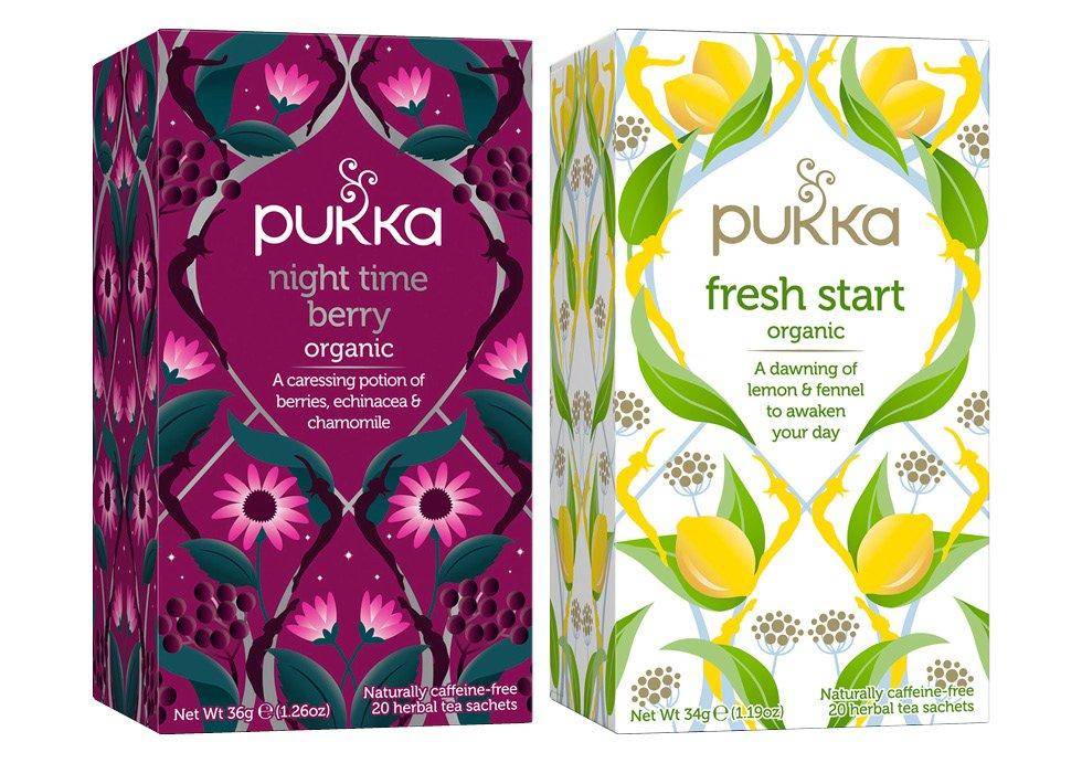 Två nya teer från Pukka