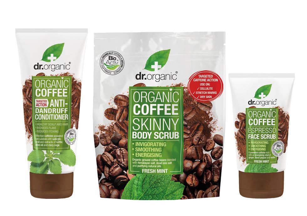 Hudvård med Kaffe