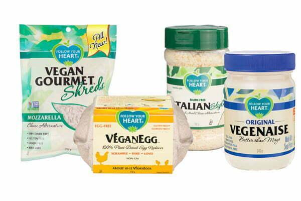 Läckra veganprodukter!